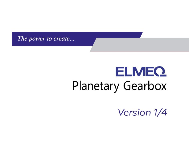 Planetary Gearbox V1